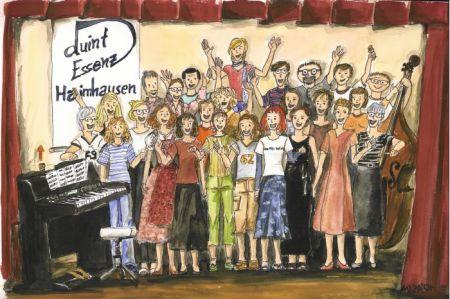 Chor, Bild gemalt
